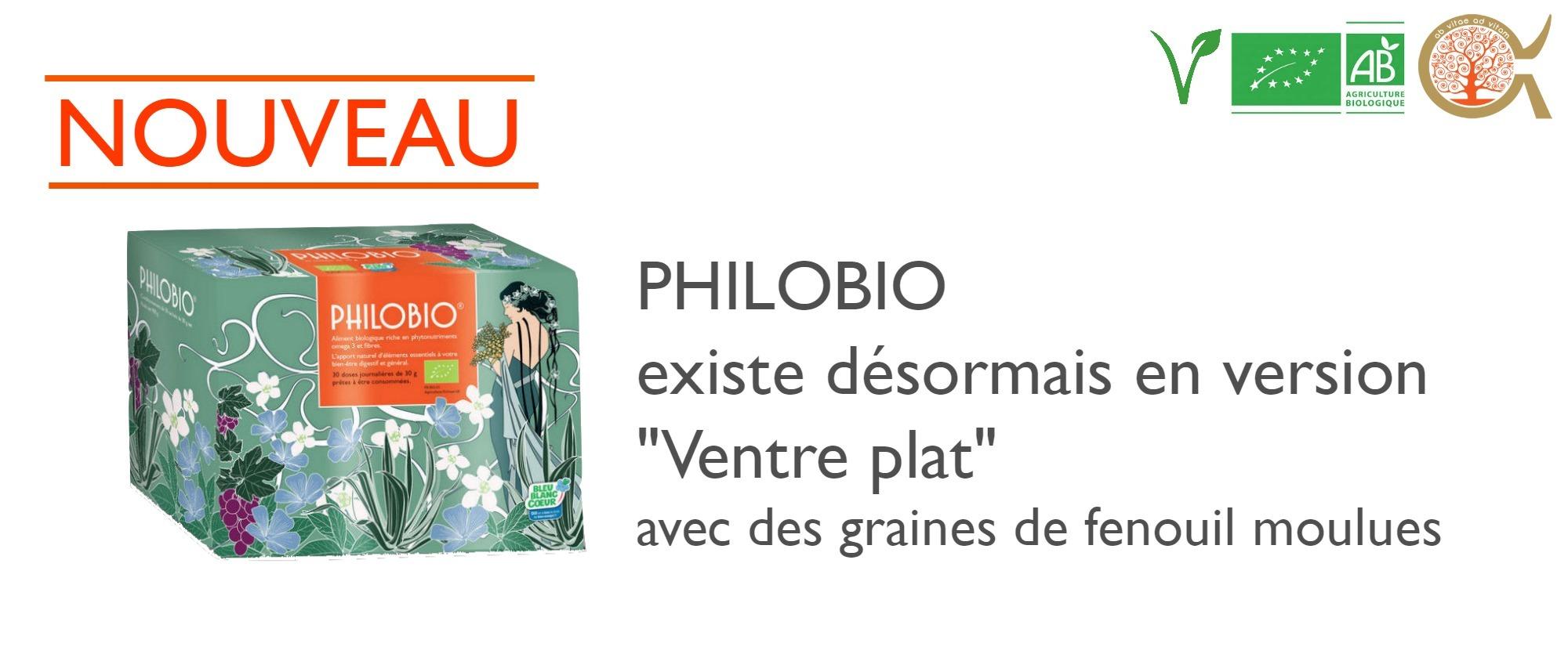 Nouveauté Philobio